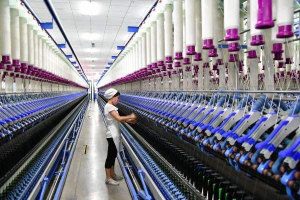 纺织出口数据